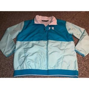 NWT UNDER ARMOUR Storm Girls Jacket